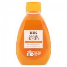 Tesco Squeezy Clear Honey 340g