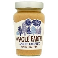 Whole Earth Organic Smooth Peanut Butter 340g