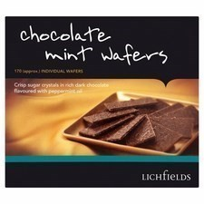 Catering Pack Lichfields Chocolate Mint Wafers 1kg