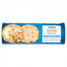Tesco High Baked Water Biscuits 200g