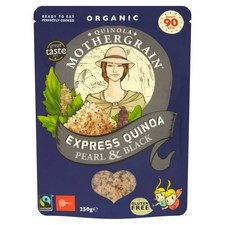 Quinola Mothergrain Pearl and Black Express Organic Quinoa 250g
