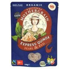 Quinola Mothergrain Pearl and Red Express Organic Quinoa 250g