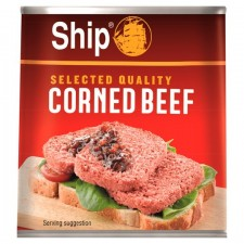Retail Pack Ship Selected Quality Corned Beef 340g x 12