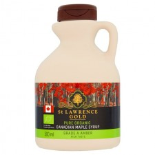 St Lawrence Gold Organic Maple Syrup Amber 500ml