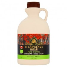 St Lawrence Gold Organic Maple Syrup Amber 1L