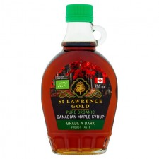 St Lawrence Gold Organic Maple Syrup Dark 250ml