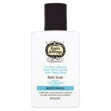 Roots and Wings Coconut Almond and Jojoba Bath Soak 250ml