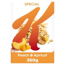 Kelloggs Special K Peach and Apricot 360g