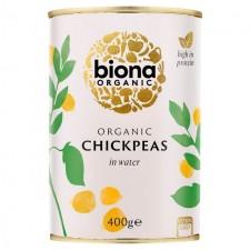 Biona Organic Chick Peas 400g