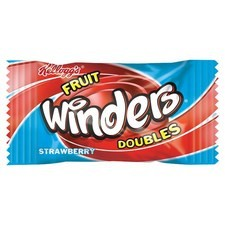 Kelloggs Fruit Winders Strawberry 17g
