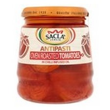 Sacla Oven Roasted Tomatoes in Chilli Oil Antipasti 285g