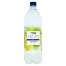 Tesco Lemon and Lime Flavoured Still Water 1 Litre