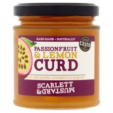Scarlett and Mustard Passionfruit and Lemon Curd 200g