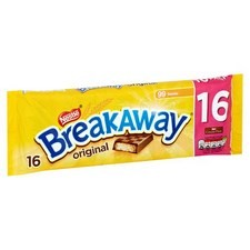Nestle Breakaway Biscuits Milk Chocolate 16 Pack