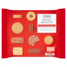 Tesco Sweet Biscuit Assortment 400g