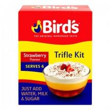 Birds Trifle Strawberry Serve 4-6 141g x 12