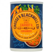 Crosse and Blackwell Best of British Carrot and Coriander Soup 400g