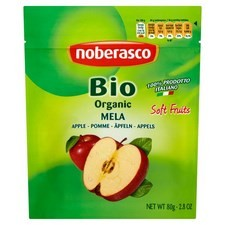 Noberasco Organic Italian Apples 80g