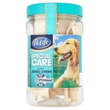HiLife Special Care Daily Dental Chews Spearmint 12 Pack