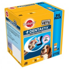Pedigree Dentastix Medium Dog 56 Pack