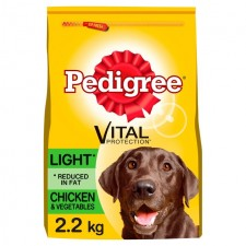 Pedigree Complete Dry Vital Protection Light with Chicken and Veg 2.2kg