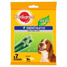 Pedigree Dentastix Fresh Medium Dog 7 per pack