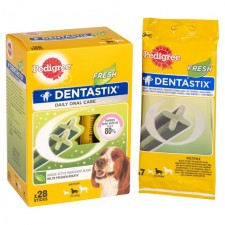 Pedigree Dentastix Fresh Medium Dog 28 per pack