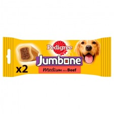 Pedigree Jumbone Beef for Medium Dogs 2 Pack
