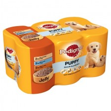 Pedigree Can Puppy in Jelly 6 x 400g