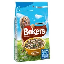Bakers Complete Chicken And Vegetables Dry Dog Food 2.7kg