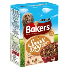 Bakers Complete Small Dog Beef and Veg 1kg
