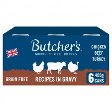 Butchers Meaty Recipes in Gravy 6 x 400g