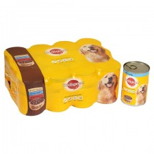 Pedigree Variety Pack In Gravy 12 x 400g