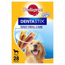Pedigree Dentastix Large Dog 28 Pack