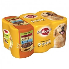 Pedigree Meaty Meals in Jelly 6 x 400g
