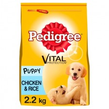 Pedigree Complete Dry Vital Protection Puppy Chicken and Rice 2.2kg