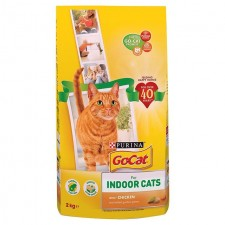 Go-Cat Indoor Cat Food Chicken and Greens 2kg