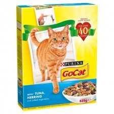 Go-Cat Complete Adult with Tuna Herring and Vegetables 825g