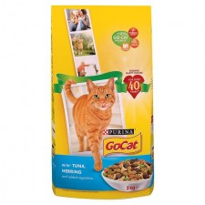 Go-Cat Complete Adult with Tuna Herring and Vegetables 2kg