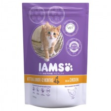 Iams Kitten And Junior Dry Cat Food Chicken 700g