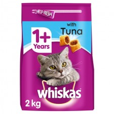 Whiskas Complete Dry Cat Food with Tuna 2kg