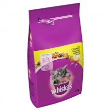 Whiskas Kitten Complete Dry Food Chicken 2kg