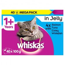 Whiskas Pouch Fish in Jelly 40 x 100g
