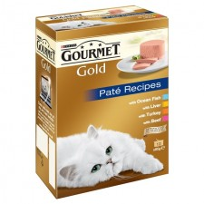 Gourmet Gold the Pate Mixed Recipes 12 x 85g