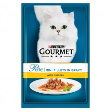 Gourmet Perle Mini Fillets Chicken 85g