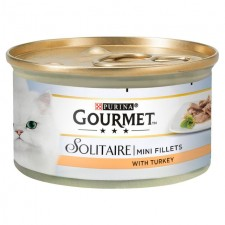 Gourmet Solitaire Mini Fillets With Turkey 85g