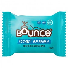 Bounce Coconut and Macadamia Protein Bliss Ball 40g
