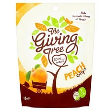 The Giving Tree Peach Crisps 18g