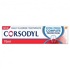 Corsodyl Extra Fresh Complete Protection Toothpaste 75ml