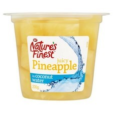 Natures Finest Pineapple in Coconut Water 200g